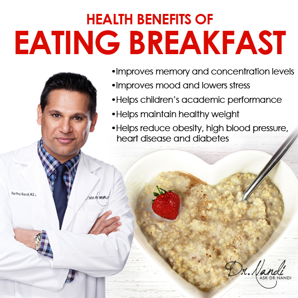 the benefits of eating breakfast Eating a big breakfast has some obvious benefits if you eat high-quality food, you're loading up your body with plenty of good fuel to take on the day a good breakfast will keep your metabolism up, which is a necessity for athletes and students.