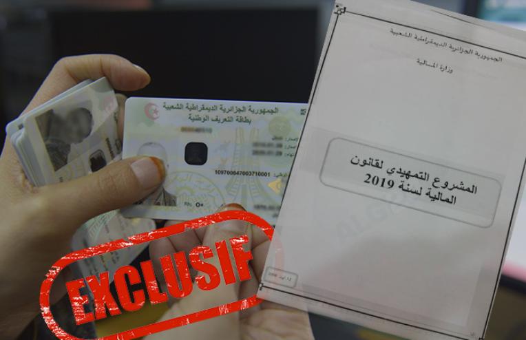 Electronic Biometric Identity Card no longer used in Algeria